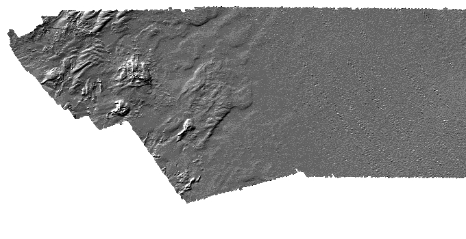 Bathymetric data image